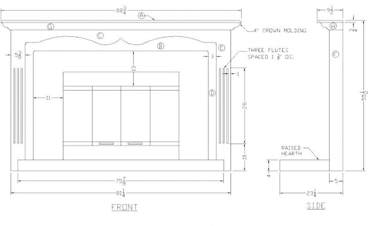 fireplace diagram parts insert wiring of a surprising alternative 728x447