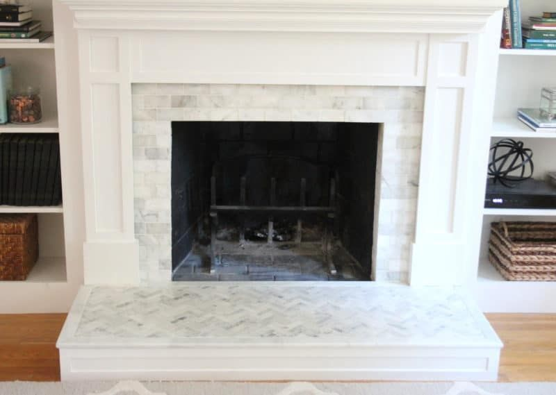 Tiling A Brick Fireplace Fresh How to Tile Over A Brick Fireplace Surround