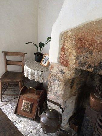 inside the tiny almhouse