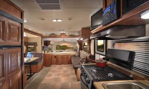 22 Beautiful Travel Trailer with Fireplace
