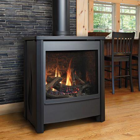 Travis Fireplace Unique Kingsman Fdv451 Free Standing Direct Vent Gas Stove