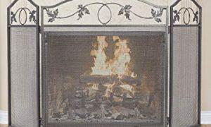 24 Luxury Tri Fold Fireplace Screen