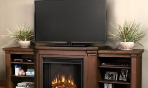 12 Luxury Tv Console with Electric Fireplace
