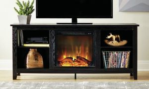 29 New Tv Stands with Electric Fireplace