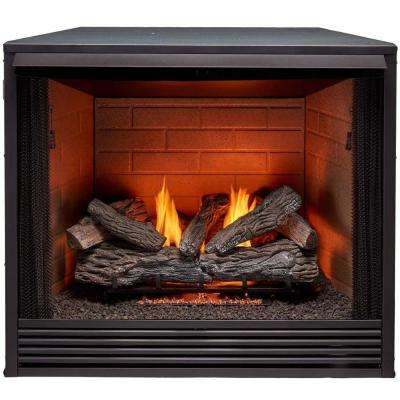 pro gas fireplace inserts pc36vfc 64 400 pressed