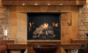 10 Luxury Vented Fireplace
