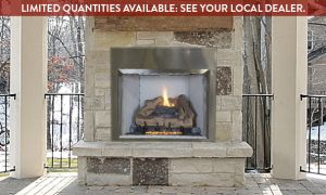 12 Luxury Vented Gas Fireplace Logs