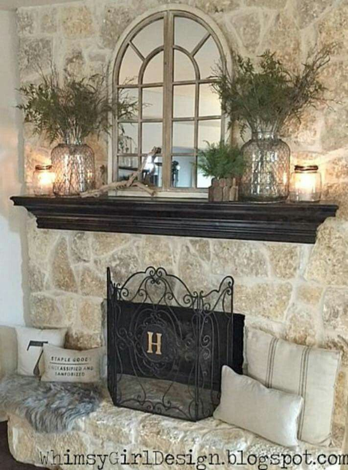 Wall Decor Over Fireplace Inspirational Decorating Mirror Over Fireplace …