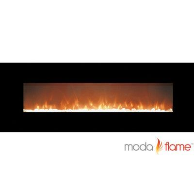 Wall Mount Fireplace Lovely Moda Flame Skyline Crystal Linear Wall Mounted Electric