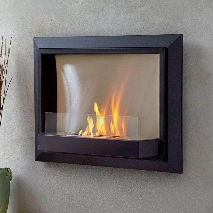Wall Mount Fireplace Lovely This Stunning Wall Hung Ventless Gel Fireplace Provides A