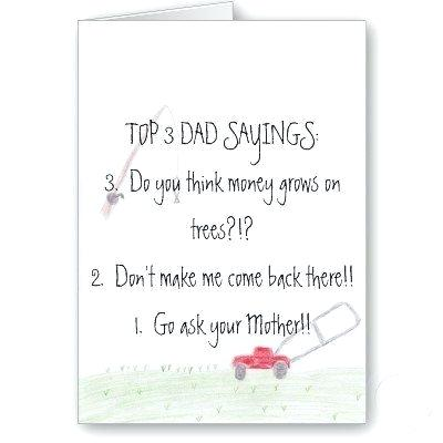 fathers day card sayings from little girl