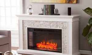 17 Beautiful White Fireplace Media Center