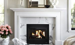 19 Elegant White Mantel Fireplace