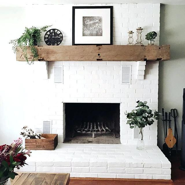 White Painted Fireplace Luxury White Brick Fireplace It Only took A Few Years to Convince