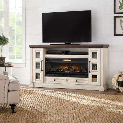 antique white home decorators collection fireplace tv stands hdfp72 44e 64 400 pressed