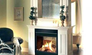 22 Elegant White Wood Fireplace Mantel