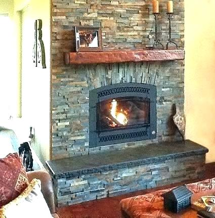 small wood burning fireplace insert used inserts grate placement