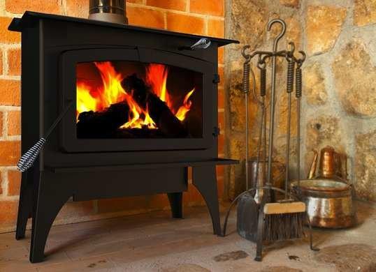 pleasant hearth wood burning stove