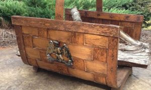 14 Unique Wood Carriers for Fireplace