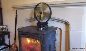 25 Unique Wood Fireplace Fan