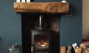 10 Lovely Wood Fireplace Hearth