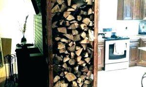 11 Lovely Wood Holder for Inside Fireplace
