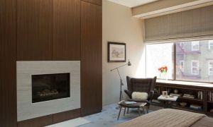 29 New Wood Panel Fireplace