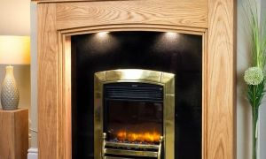 24 Elegant Wooden Fireplace