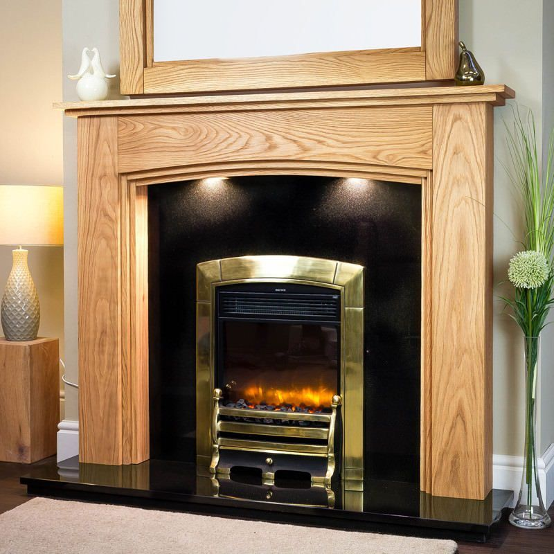 Wooden Fireplace New Lyndhurst solid Oak Fireplace Surround In 2019