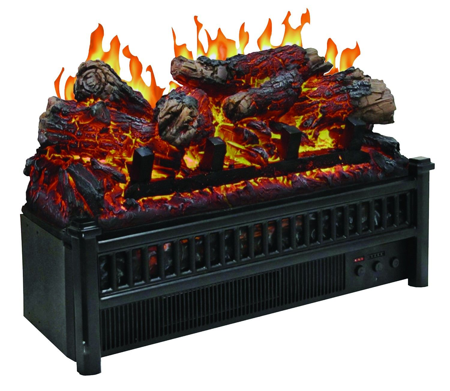 24 Inch Electric Fireplace Insert New Electric Logs with Heater Fireplace Insert
