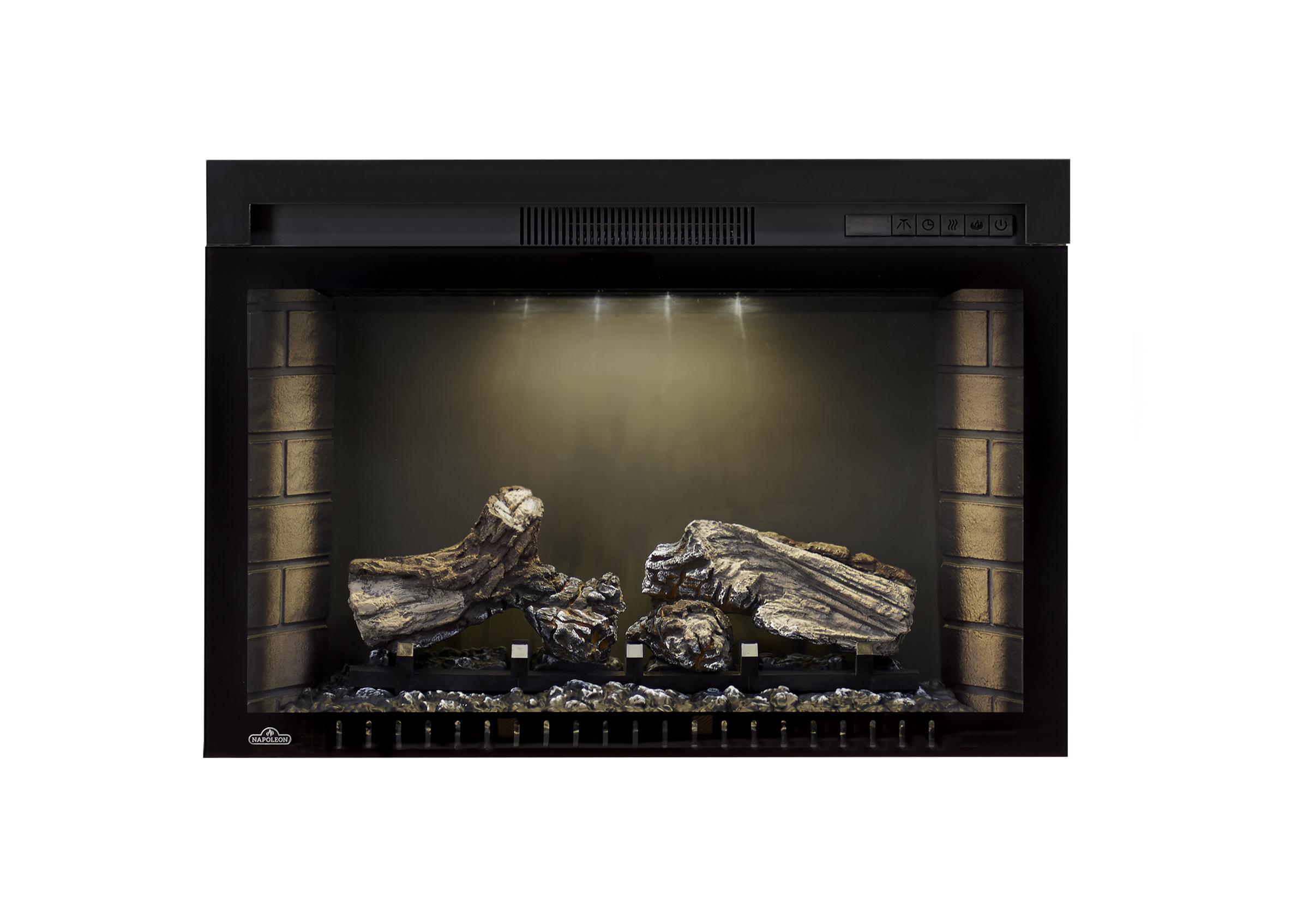 Cinema 29 straight nightlight only napoleon fireplaces
