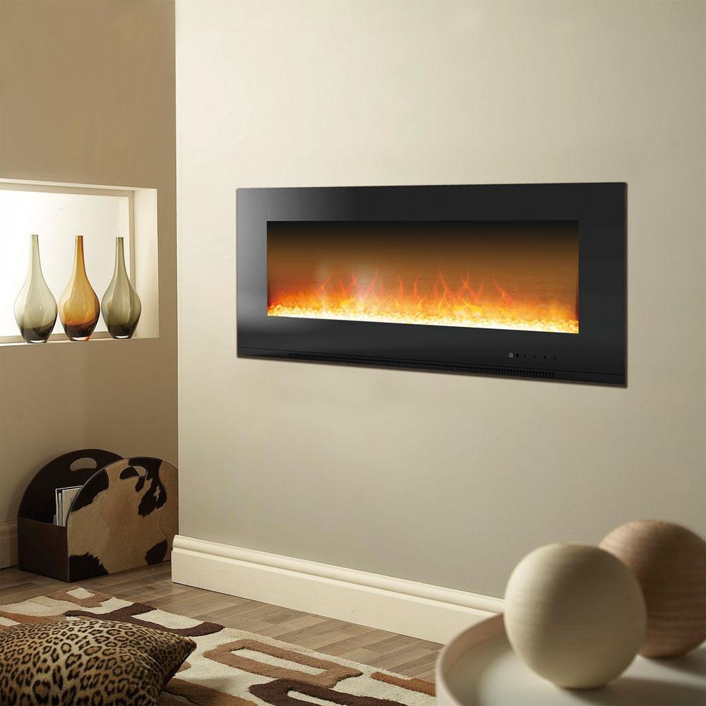 "50 Inch Recessed Electric Fireplace Inspirational 50"" Electric Fireplace Wall Mount In 2019 Products"