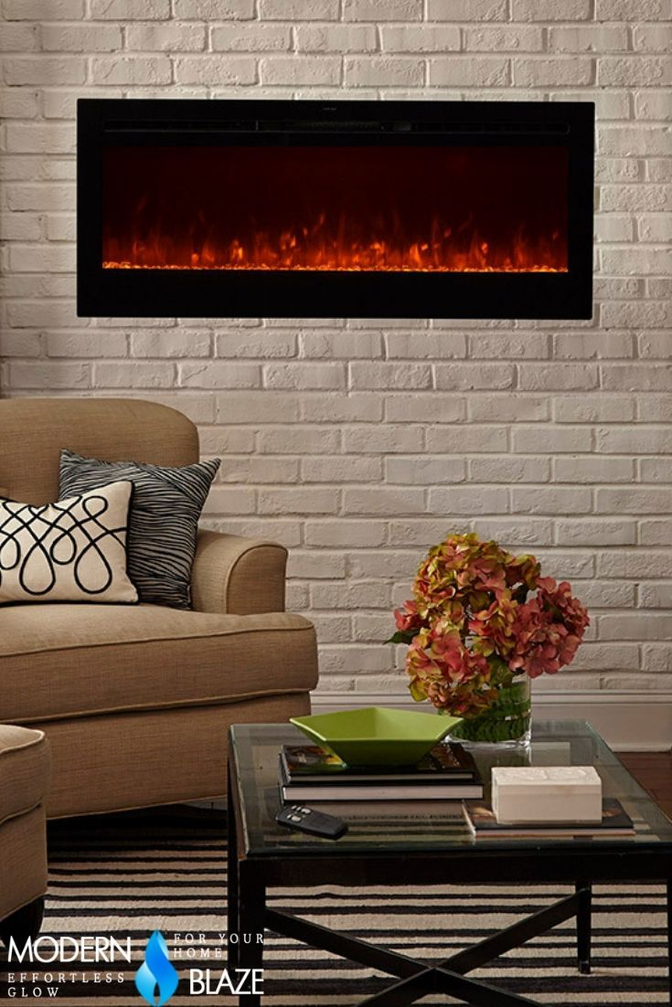 "50 Inch Recessed Electric Fireplace New touchstone Sideline 50"" Recessed Electric Fireplace"