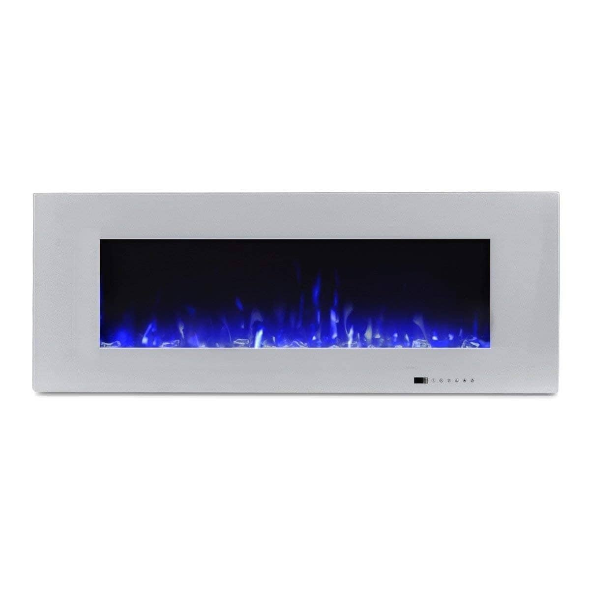 """50 Inch Recessed Electric Fireplace Unique Valuxhome Luxey 50"""" 750w 1500w Wall Mounted Electric"""