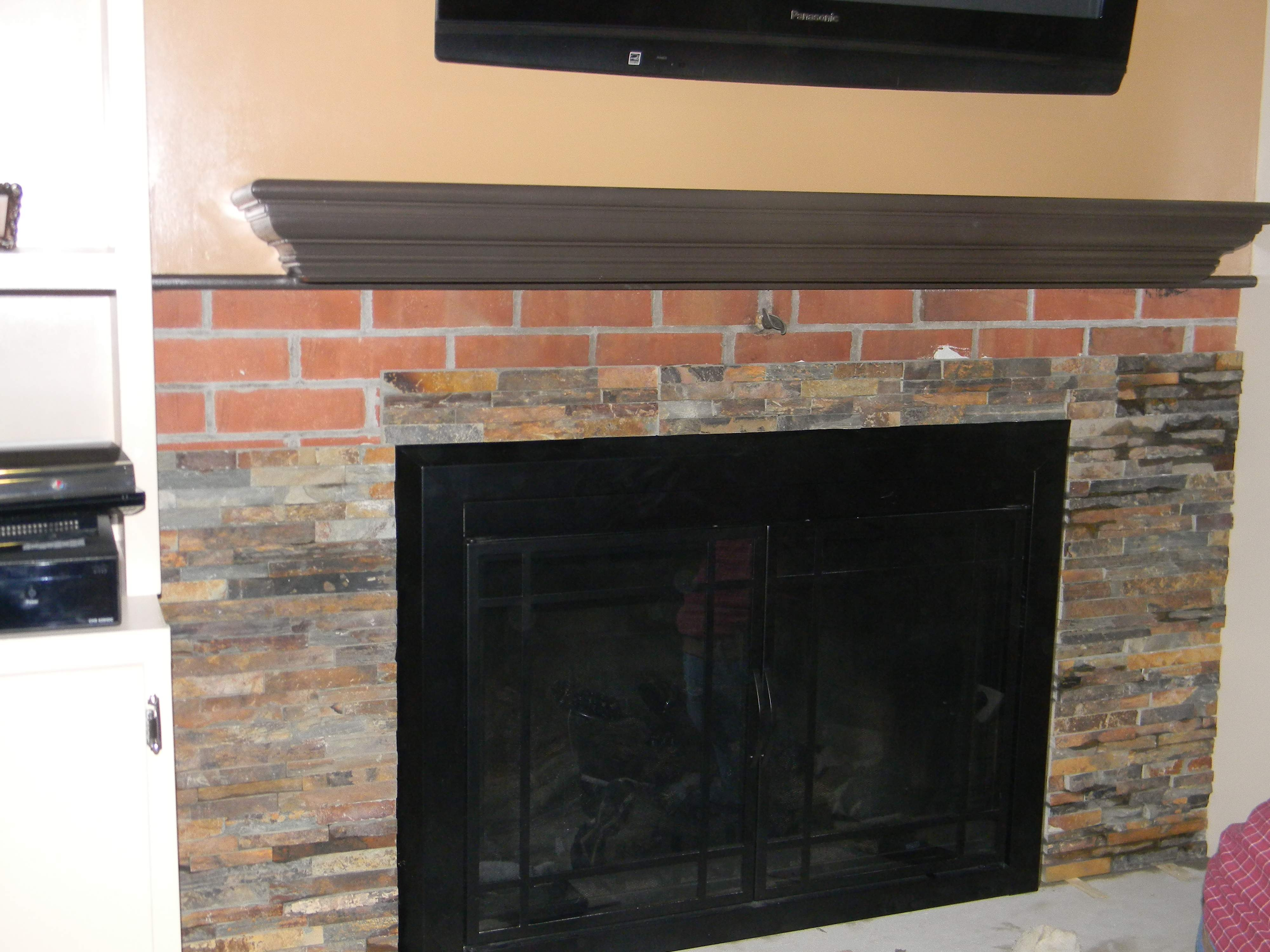 ideas to cover brick fireplace ideas to cover brick fireplace new cover brick fireplace with faux stone bjhryz