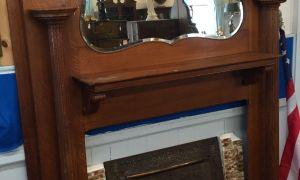 13 Unique Antique Fireplace Mantel with Mirror