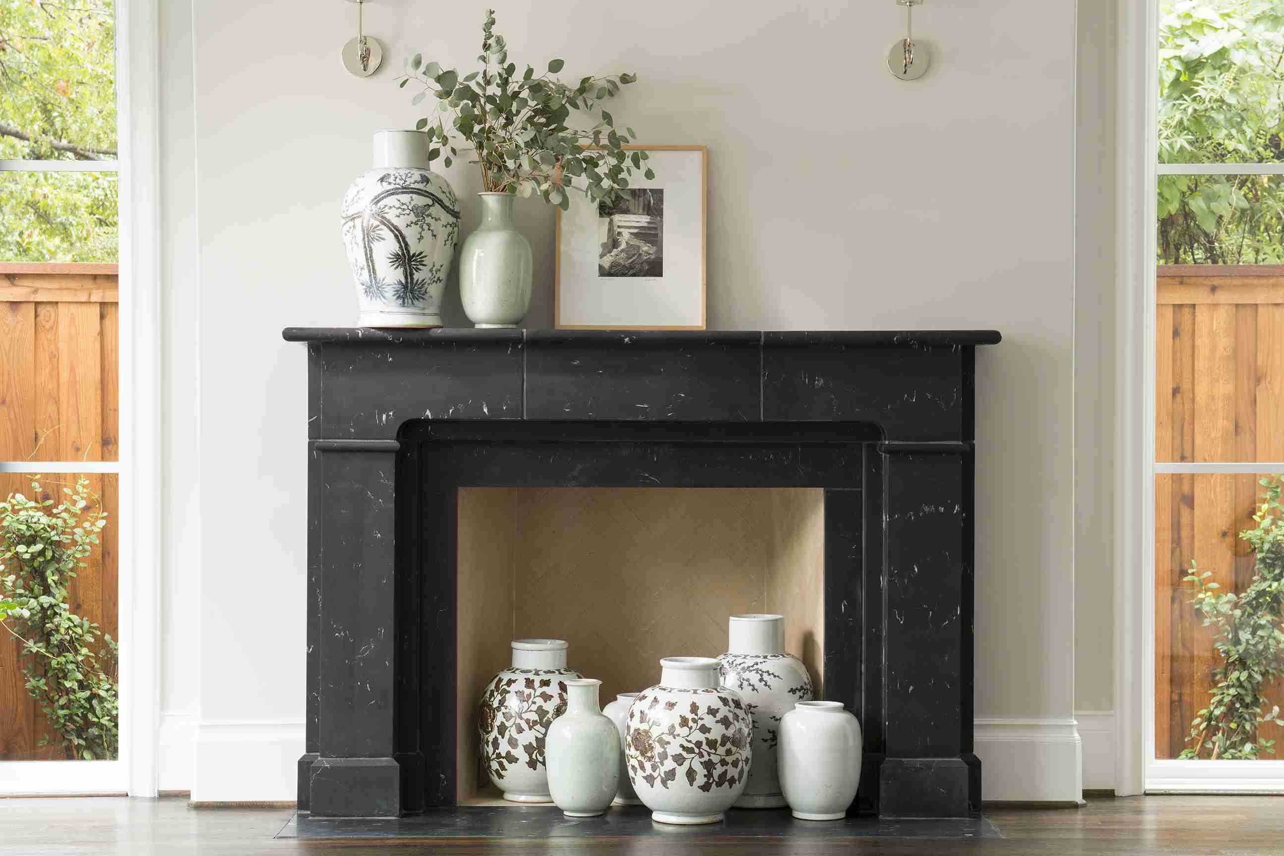 12 fin black marble fireplace 5a0c9e069e b5