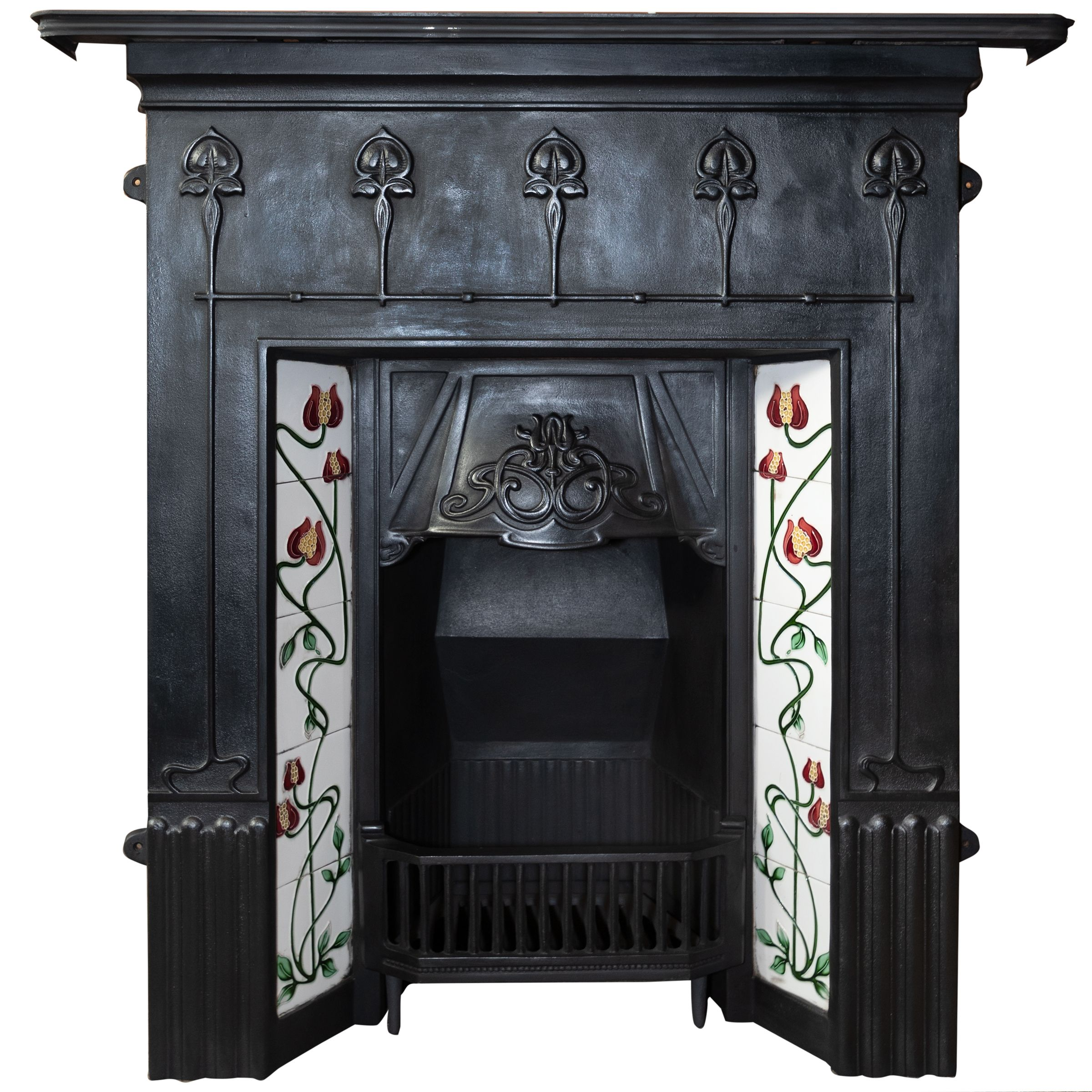 Antique Fireplace Tile Awesome Huge Selection Of Antique Cast Iron Fireplaces Fully