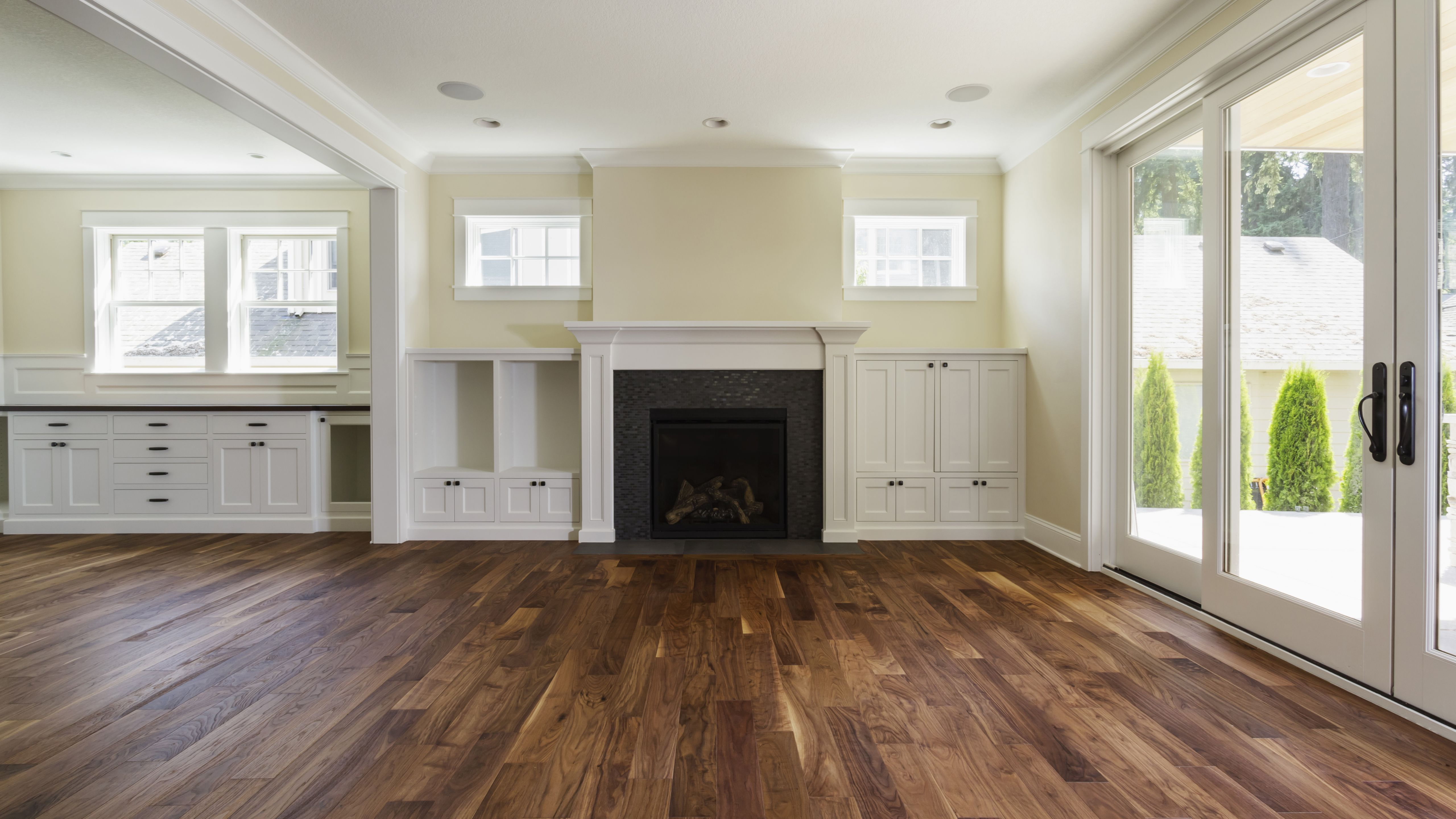 fireplace and built in shelves in living room 57bef8e33df78cc16e