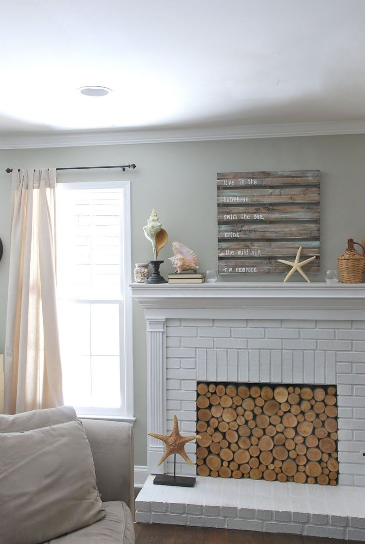 Are Electric Fireplaces Tacky Fresh Fill the Fireplace with Logs for the Warmer Months or