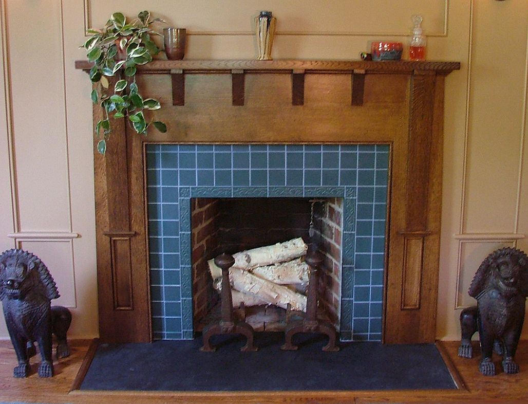 Arts and Crafts Tiles for Fireplaces New Fireplace Tiles From Carreaux Du nord Studio In Matte Blue