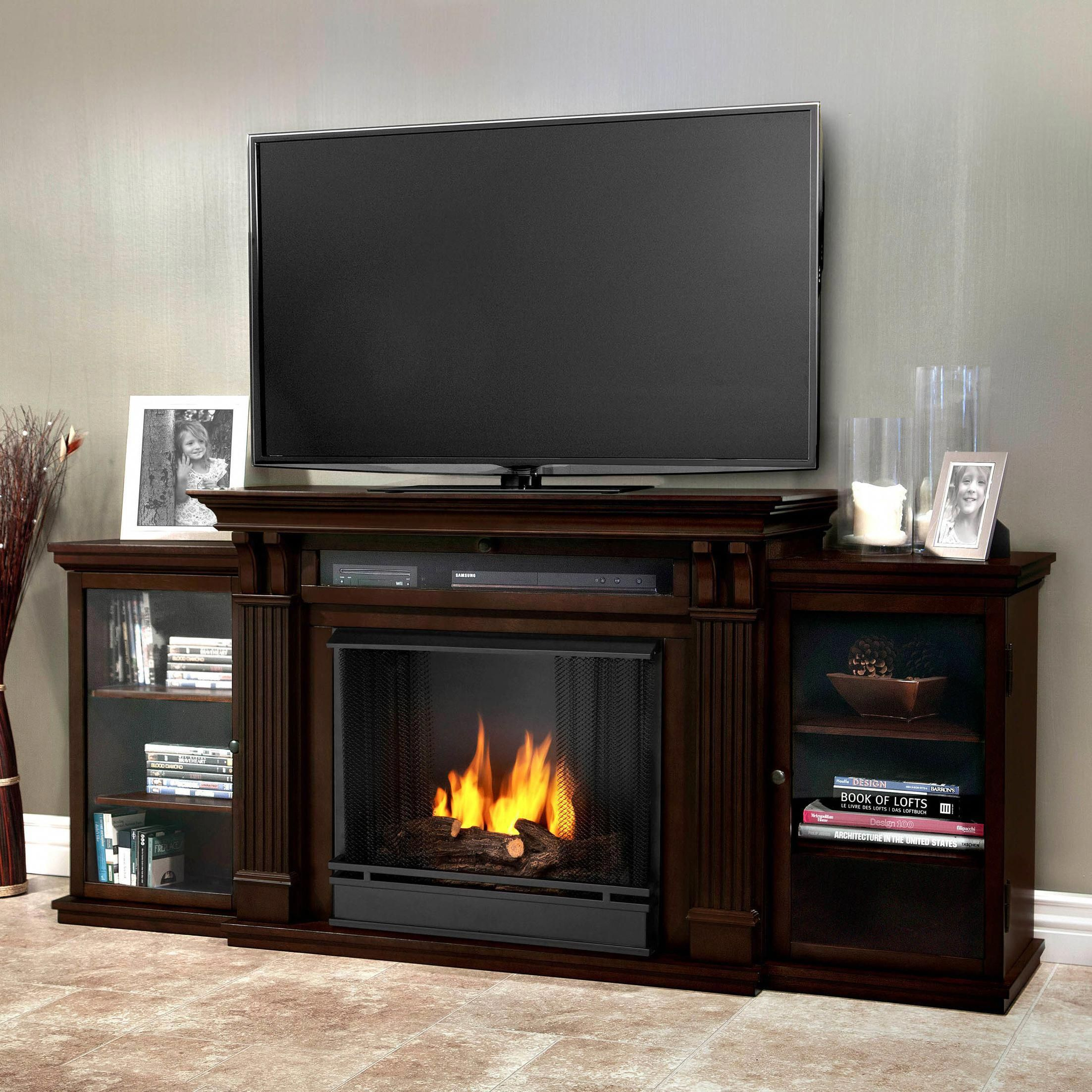 "Ashley Furniture Tv Stand with Fireplace Luxury Calie Tv Stand ""tvstanddiy"""