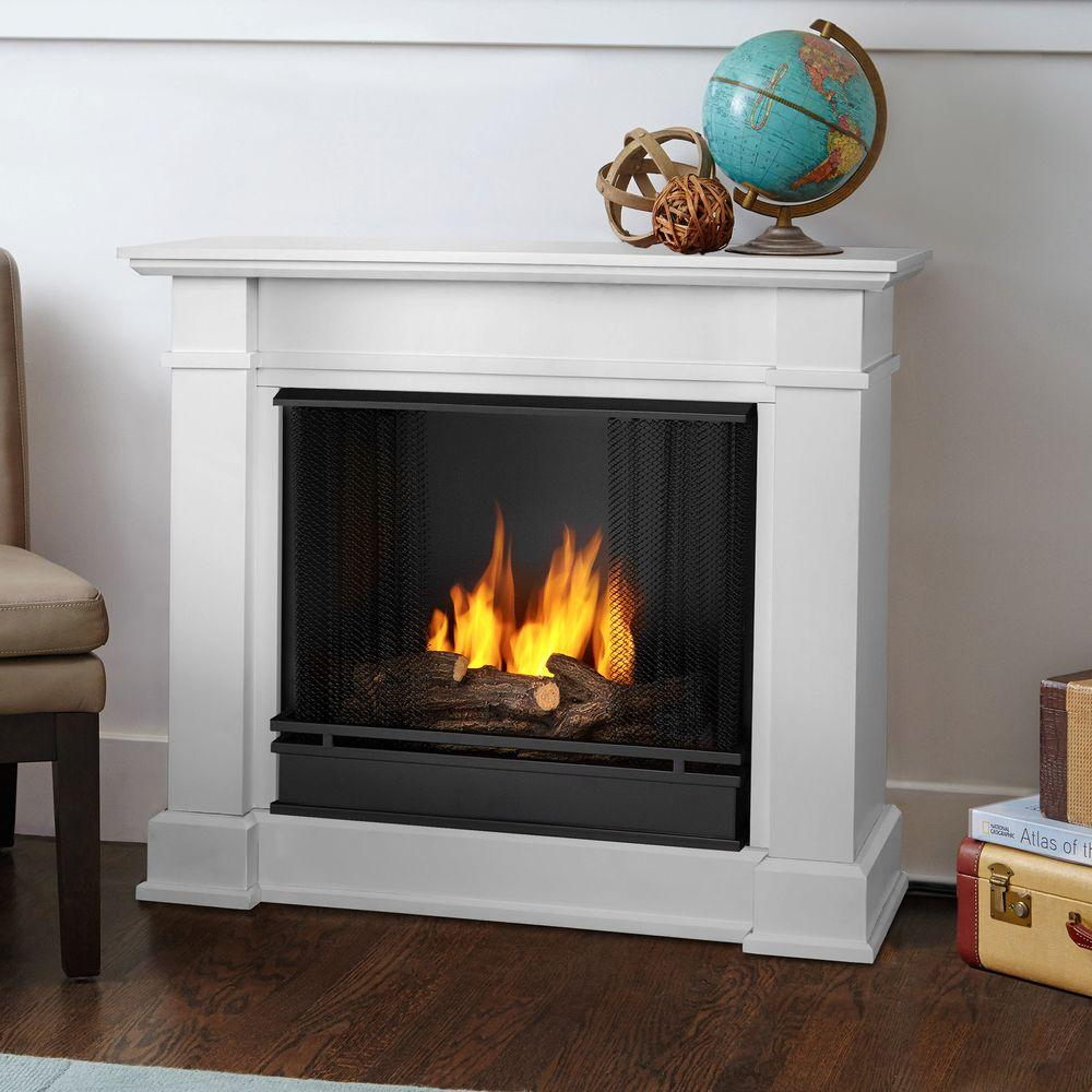white real flame gel fireplaces 1220 w 64 1000