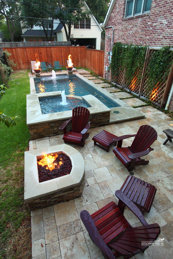 cdbef6bc f c446fd8fe narrow backyard ideas small backyard pools