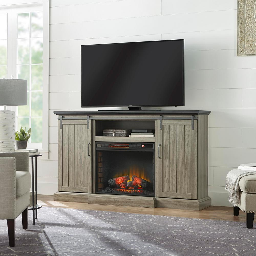 ash home decorators collection fireplace tv stands 64 1000