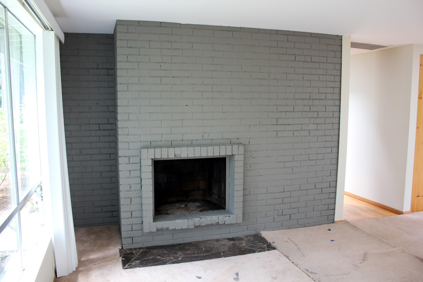 Best Color to Paint Brick Fireplace Fresh some Style Painted Brick Fireplace — Best Chair