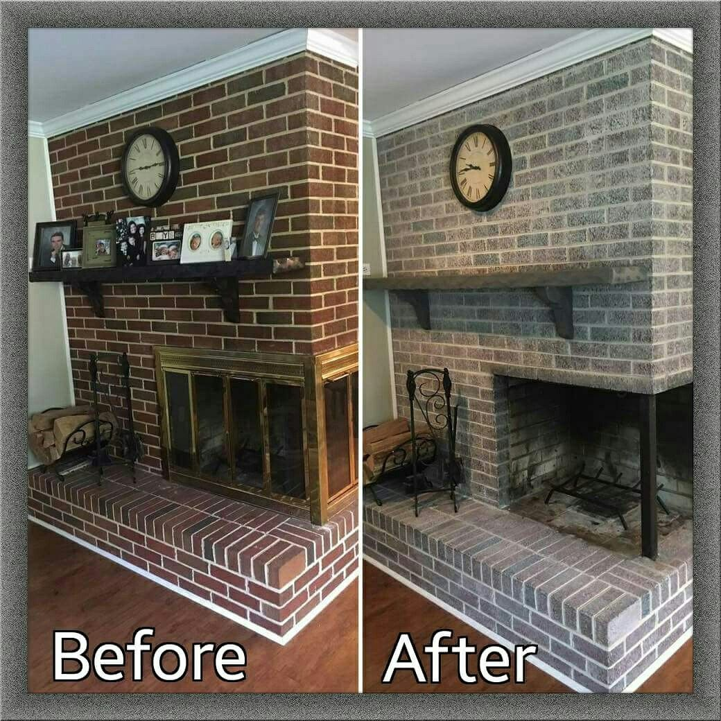 Best Color to Paint Brick Fireplace Inspirational Happy Lahor Day Everyone Tami is Ting This Fireplace