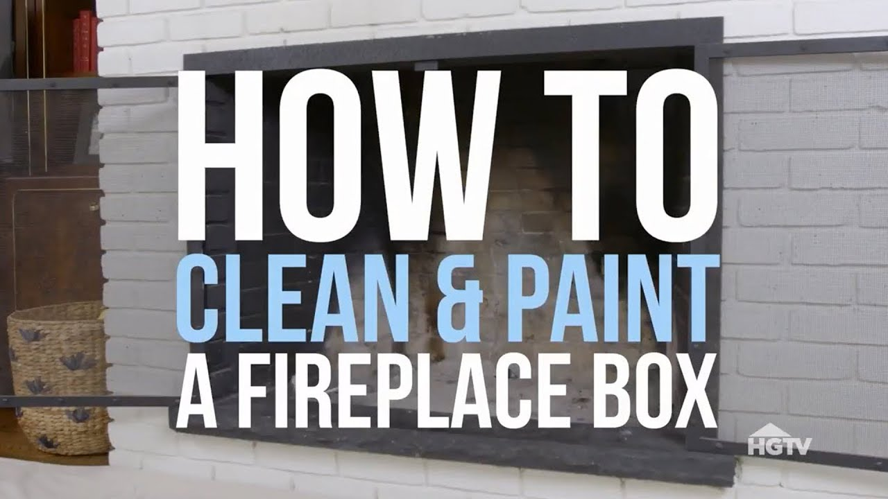Best Color to Paint Brick Fireplace Lovely How to Paint A Fireplace Box Hgtv