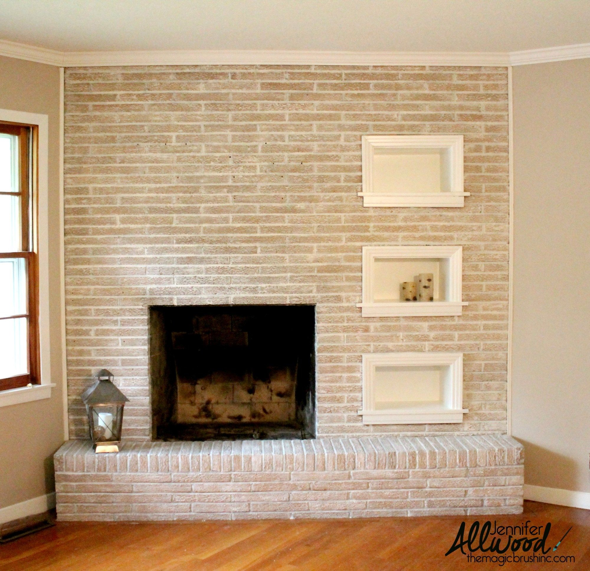 Best Color to Paint Brick Fireplace Unique Paint Fireplace Brick Painting Projects