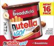 Bjs Fireplace Tv Stand Beautiful Ferrero Nutella & Go with Breadsticks 16 Ct 1 8 Oz